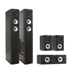 Комплект акустики JAMO S 626 HCS 3 Black Ash