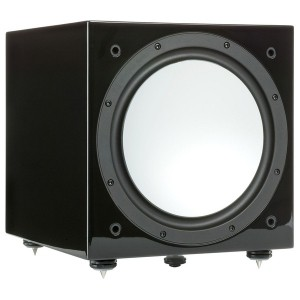 Сабвуфер Monitor audio silver W12 Hight Gloss Black