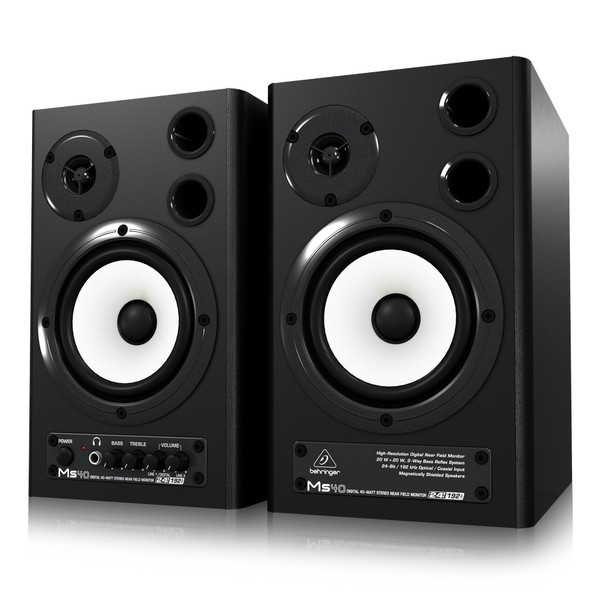 Студийные мониторы Behringer MS 40 DIGITAL MONITOR SPEAKERS -