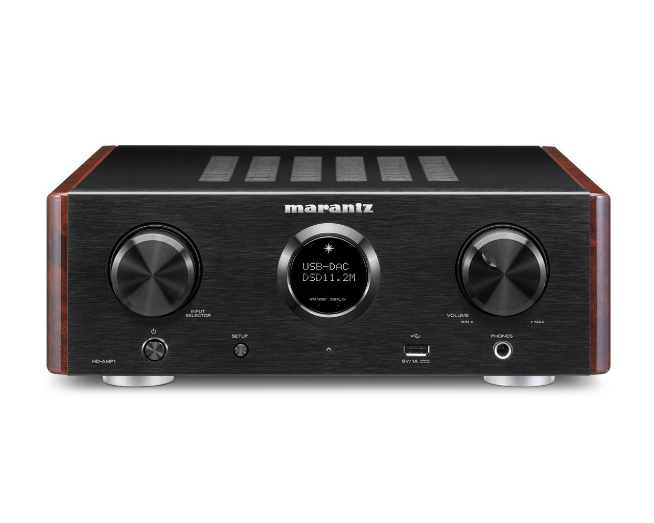 Стерео усилитель с ЦАП: Marantz HD-AMP 1 Black -