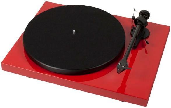 Виниловый проигрыватель  PRO-JECT DEBUT CARBON DC (2M-Red) - RED -