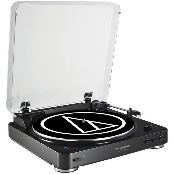 Виниловый проигрыватель Audio-Technica AT-LP60-Bluetooth Black -