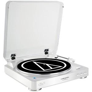 Виниловый проигрыватель Audio-Technica AT-LP60BT White