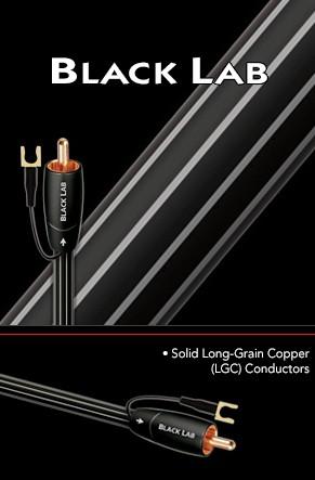 Кабель для сабвуфера AudioQuest Black Lab (8,0м) -