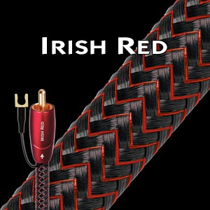 Кабель для сабвуфера AudioQuest Irish Red (20,0м)