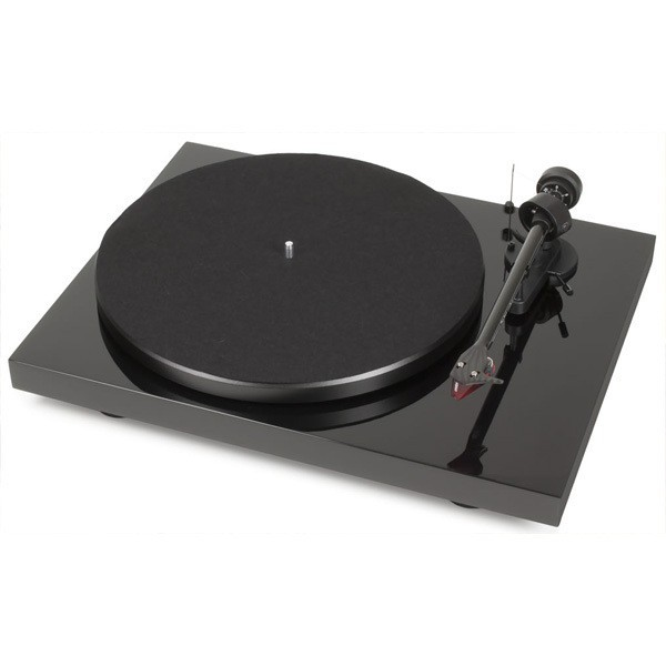 Виниловый проигрыватель Pro-Ject Debut Carbon DC Phono USB (OM 10) - Piano Black -