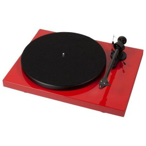 Виниловый проигрыватель Pro-Ject Debut Carbon DC Phono USB (OM 10) - Red