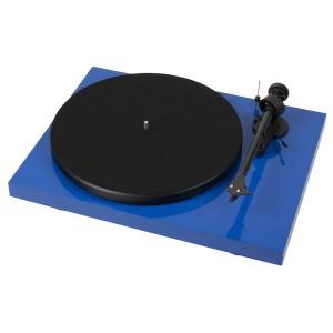 Виниловый проигрыватель Pro-Ject Debut Carbon DC Phono USB (OM 10) - Blue