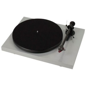 Виниловый проигрыватель Pro-Ject Debut Carbon DC Phono USB (OM 10) - Light Grey