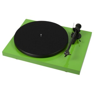 Виниловый проигрыватель Pro-Ject Debut Carbon DC Phono USB (OM 10) - Green