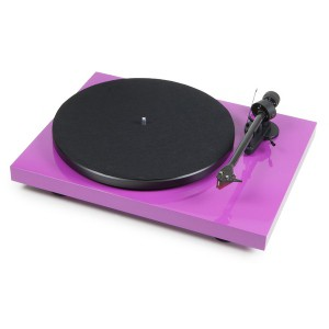 Виниловый проигрыватель Pro-Ject Debut Carbon DC Phono USB (OM 10) - Purple