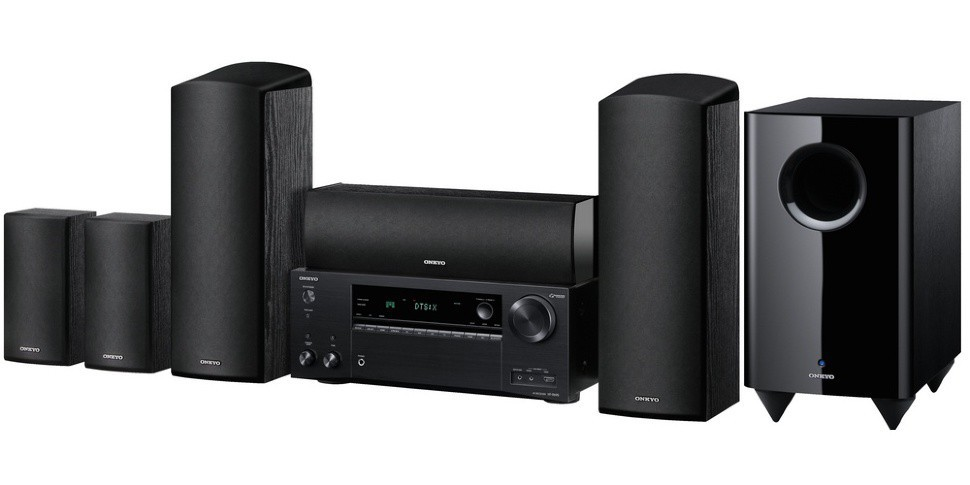 Комплект Onkyo HT-S7805 Black (AV ресивер + Акустика 5.1.2) -