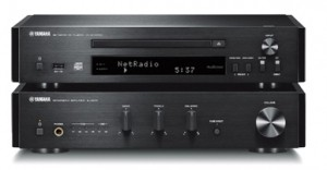 Hi-Fi система Yamaha MCR-N870 Black без акустики