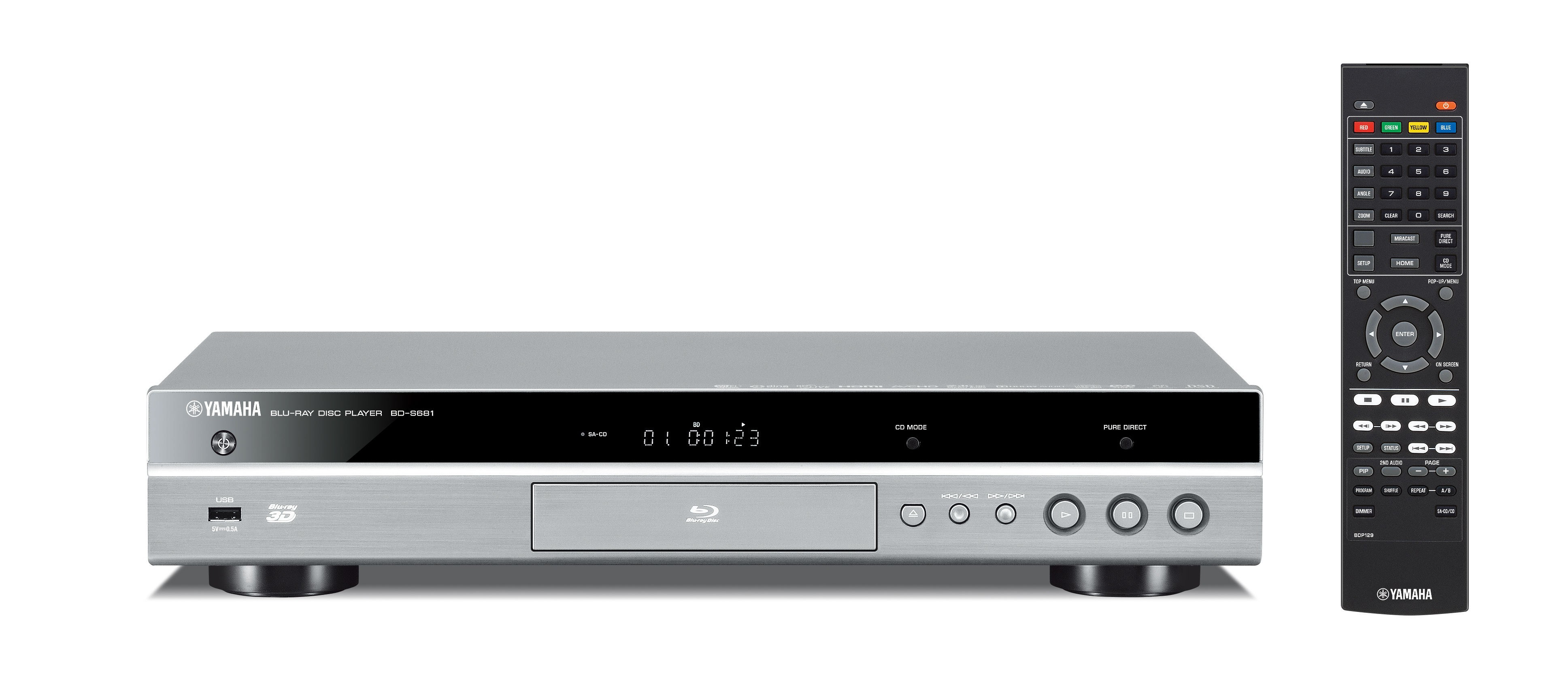 Blu-Ray проигрыватель Yamaha BD-S681 Titan -