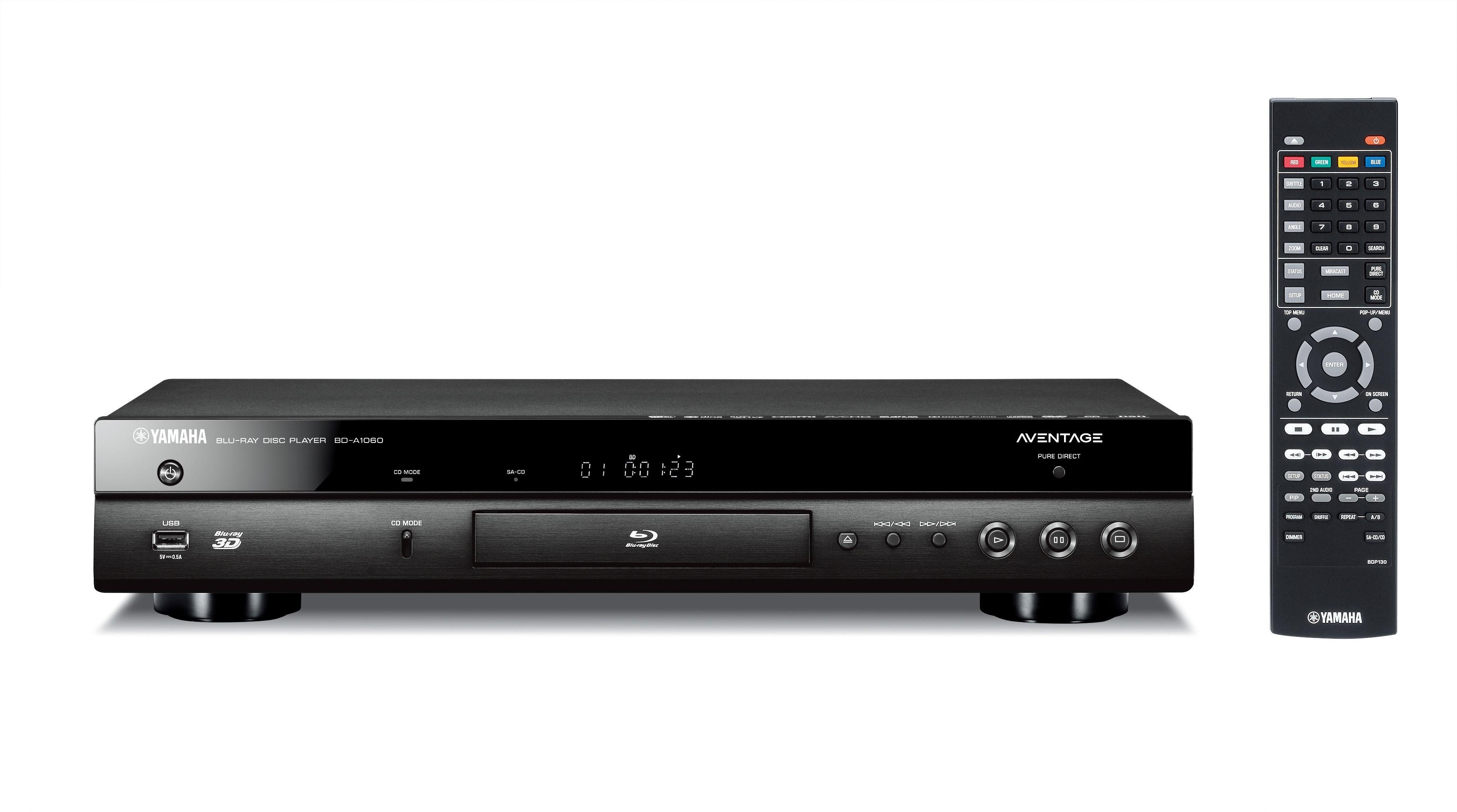 Blu-ray проигрыватель Yamaha BD-A1060 Black -