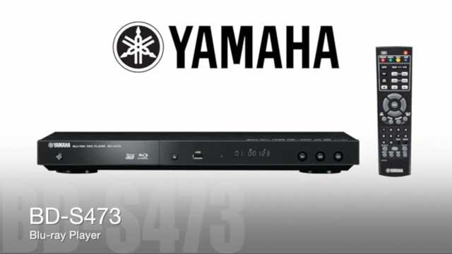 Blu-ray проигрыватель Yamaha BD-S473 -