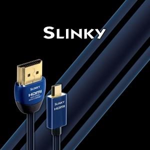 Кабель AUDIOQUEST Slinky HDMI-Mikro HDMI (3D, 4K/UltraHD) (2 м)