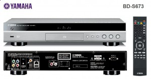 Blu-ray проигрыватель Yamaha BD-S673
