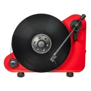 Виниловый проигрыватель Pro-Ject VT-E R Red OM5e