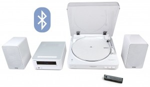 Винил Audio-technica AT-LP60-BT + Onkyo CS-265 (White)