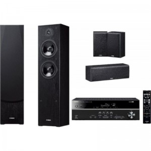 Комплект Yamaha Kino SYSTEM 383 (RX-V383 + NS-F51 + NS-P51) Black