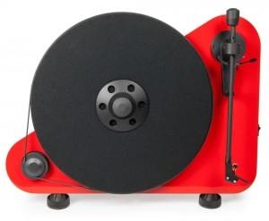 Виниловый проигрыватель Pro-Ject VT-E BT R (OM5e) - Red