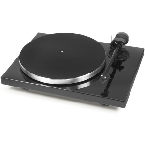 Виниловый проигрыватель Pro-Ject 1Xpression Carbon Classic (2M Silver) - Piano Black