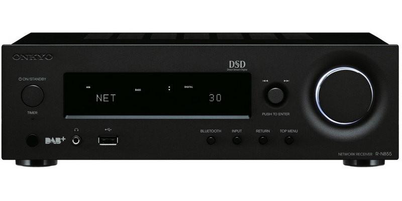 Сетевой стерео-ресивер Onkyo R-N855 Black -