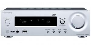 Сетевой стерео-ресивер Onkyo R-N855 Silver
