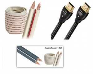 Комплект кабелей Audioquest для ДК №1