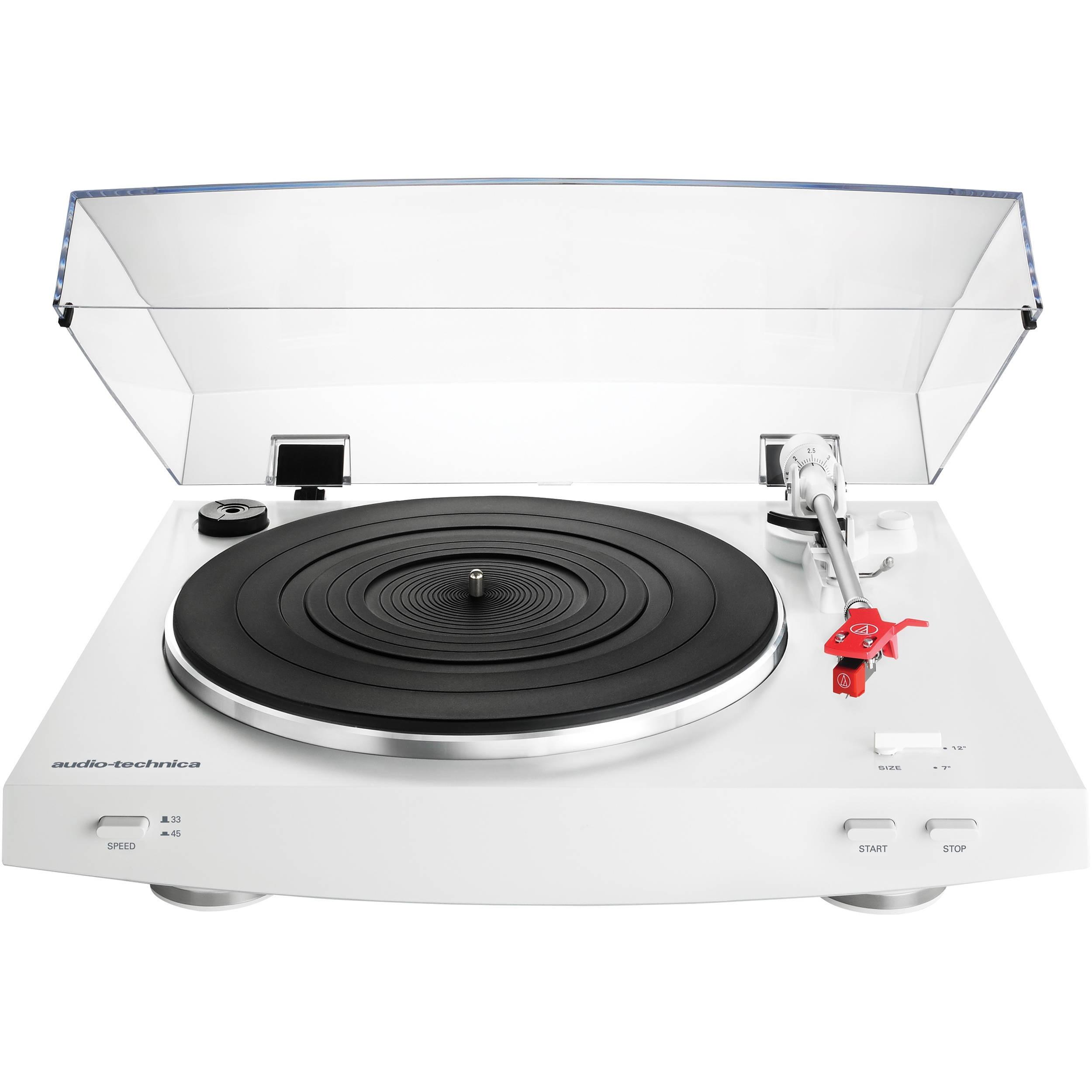 Виниловый проигрыватель Audio-Technica AT-LP3 White -