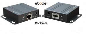 Комплект приемопередтчиковHDMI cигнала EBODE HD60IR