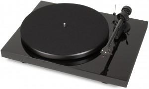Виниловый проигрыватель Pro-Ject Debut RecordMaster Piano (OM 10)
