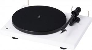 Виниловый проигрыватель Pro-Ject Debut RecordMaster White (OM 10)