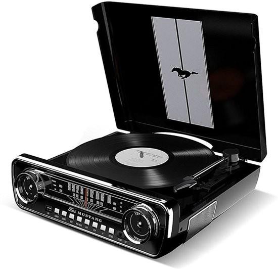 Виниловый проигрыватель ION Mustang LP Black -