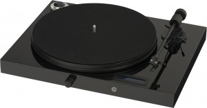 Виниловый проигрыватель Pro-Ject Juke Box E (OM 5E) -  Piano Black