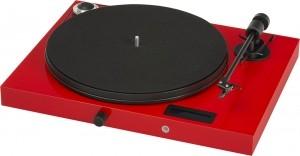 Виниловый проигрыватель Pro-Ject Juke Box E (OM 5E) - Red