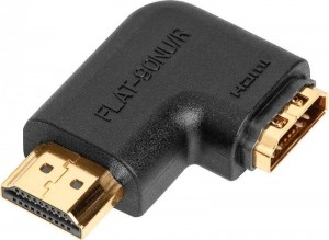 Угловой HDMI переходник AUDIOQUEST HDMI 90NU/R Flat Adaptor