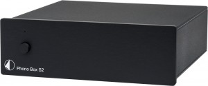 Фонокорректор Pro-Ject Phono Box S2 Black