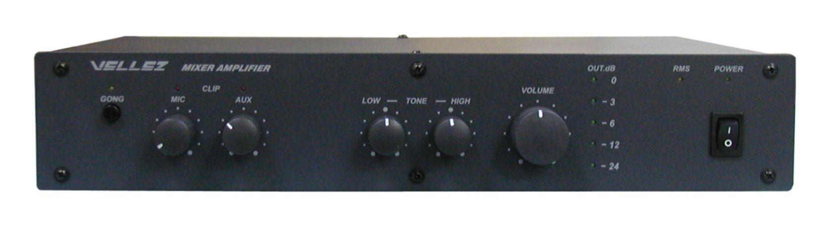 Усилитель-микшер Vellez 80ПП024М -