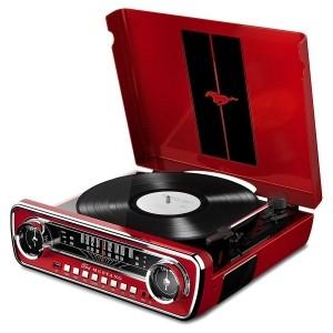 Виниловый проигрыватель ION Mustang LP Red