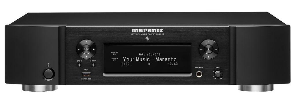 Сетевой проигрыватель Marantz NA6006 Black -