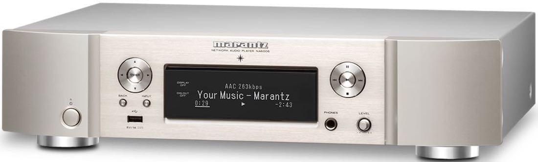 Сетевой проигрыватель Marantz NA6006 Silver -