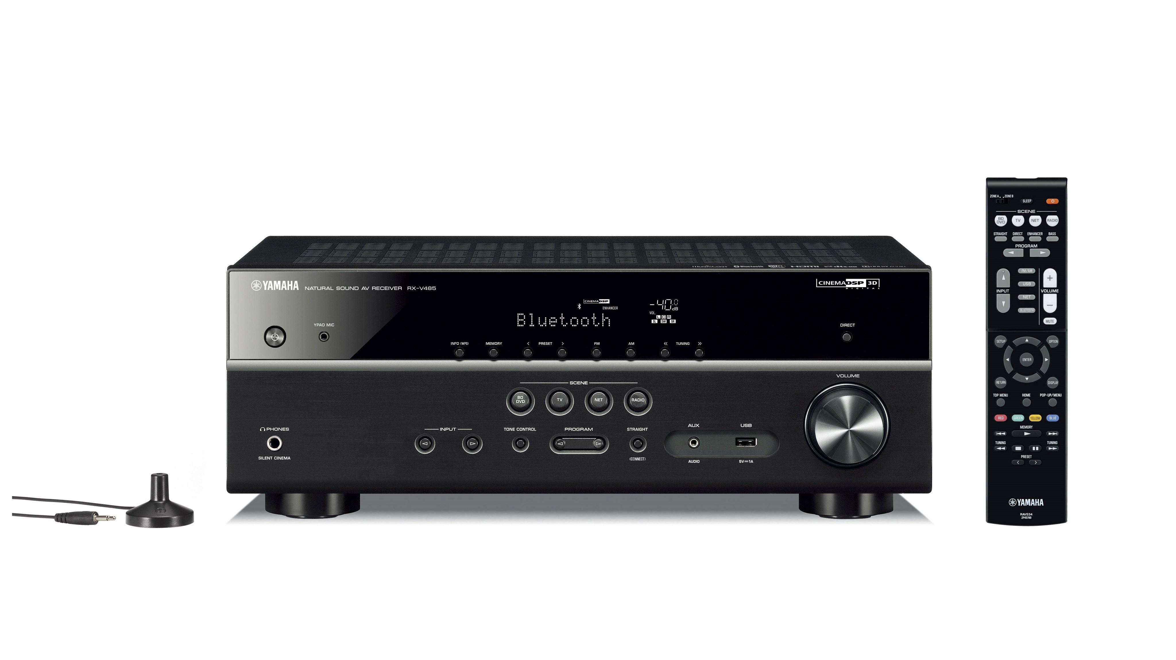 AV-ресивер Yamaha RX-V485 Black -