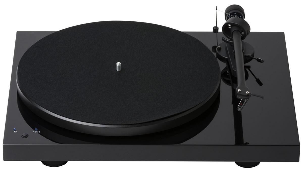 Виниловый проигрыватель Pro-Ject DEBUT RecordMaster Piano OM5E -