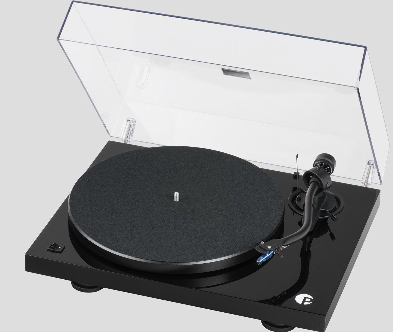 Виниловый проигрыватель Pro-Ject DEBUT III S Audiophile Black Pick it 25A -