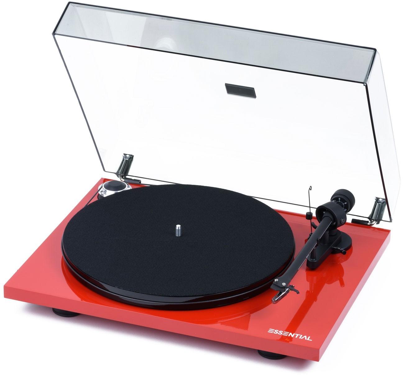 Виниловый проигрыватель Pro-Ject ESSENTIAL III Phono Red OM10 -