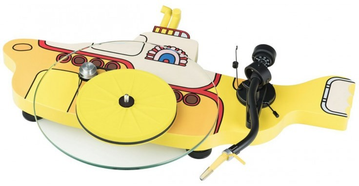 Виниловый проигрыватель Pro-Ject The Beatles Yellow Submarine DC Sonar -