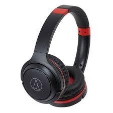 Беспроводные наушники Audio-Technica ATH-S200BT Red