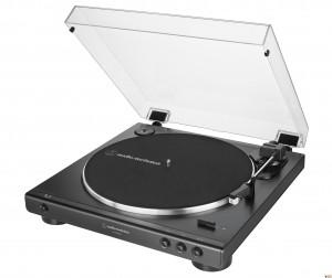 Виниловый проигрыватель Audio-Technica AT-LP60XUSBBK